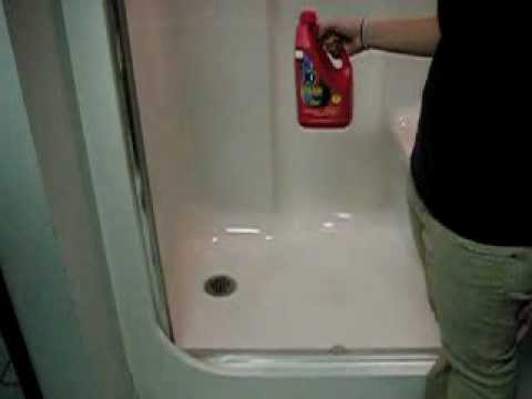 How to open a clogged shower drain with Samantha - YouTube