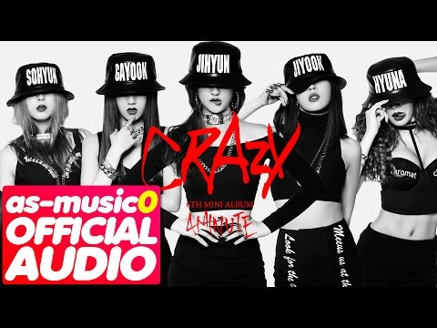 [MP3/DL]01. 4MINUTE (포미닛) - Crazy (미쳐) [6th Mini Album 'CRAZY']
