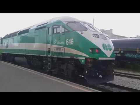 Last GO Train into Kitchener, Ontario on June 15th, 2018 (please read desc.)