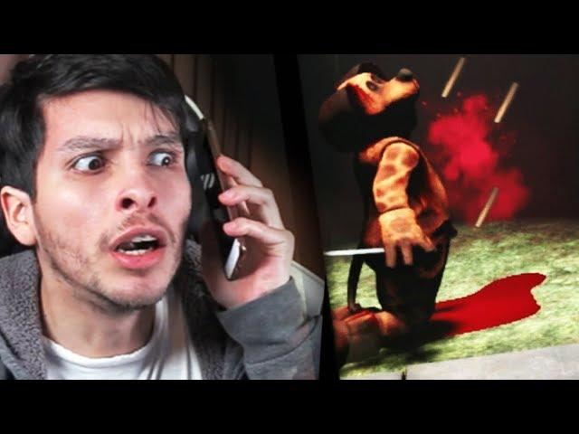 LLAMÉ A LA POLICÍA !! EL FINAL MÁS INCREÍBLE DEL PERRO - Duck Season (Horror Game)