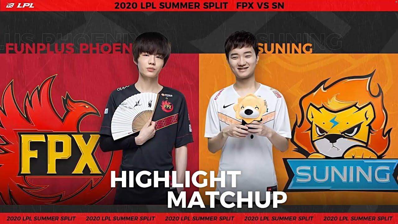 【LPL夏季賽】第10週 FPX vs SN #2