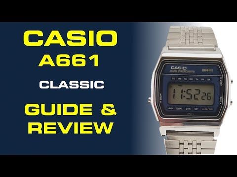 Casio Classic Watch A661 Guide & Review