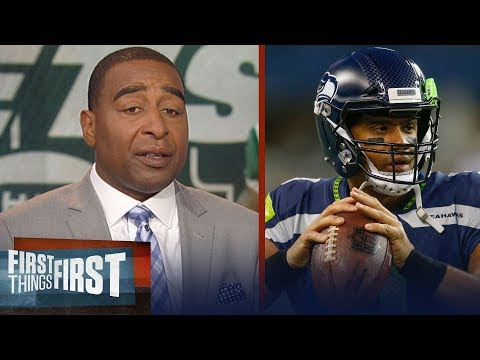 Cris Carter talks Russell Wilson's role adjustments, Revis retires | NFL | FIRST THINGS FIRST