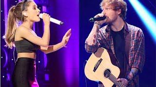 Ariana Grande Vs. Ed Sheeran: Best Grammys Performance?!