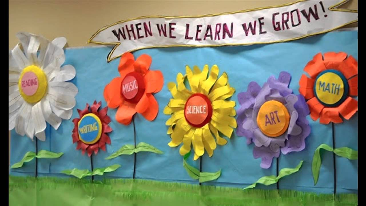Easy Spring Classroom Decorations Youtube