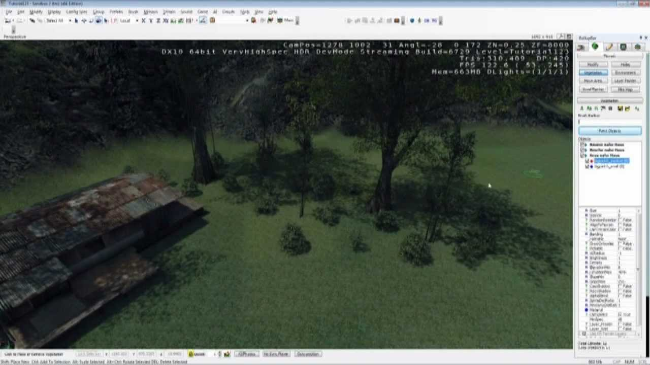CRYENGINE 3 SANDBOX