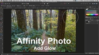 Adding Glow to Landscape Images with Affinity Photo