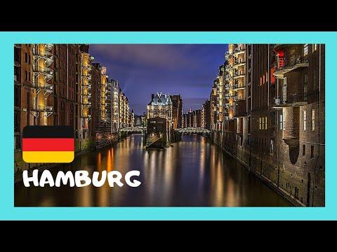 HAMBURG, GERMANY'S most beautiful PORT CITY
