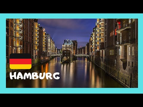 A tour of the beautiful city of Hamburg (Germany)