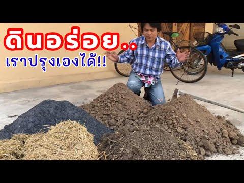 ดินร่วนซุย คือดินอร่อยที่พืชชอบ เทคนิคปรุงดินปลูกให้อร่อย ปลูกอะไรก็งาม   เกษตรกรชาวบ้าน