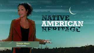 CBS Cares - Tristin Mays of MacGyver on Faith Spotted Eagle