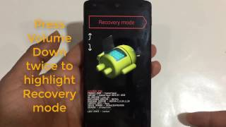 LG Nexus 5 Hard Reset LG D820, D821