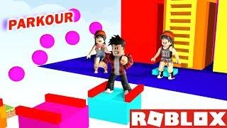 THE FUNNIEST PARKOUR OF ROBLOX! (Part 1) #SóPorCausa