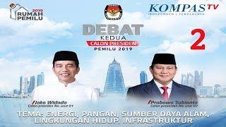 Download Video LIVE Debat Kedua Capres Pemilu 2019 -- Jokowi vs Prabowo -- [2] MP3 3GP MP4