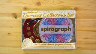 Die-Cast Spirograph Collector's Set from ThinkGeek