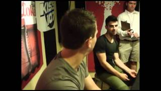 Joe Jonas answers some questions for his fans at Kiss 107