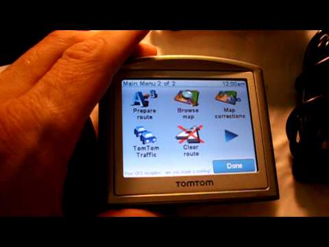 EBAY AUCTION: TOMTOM ONE 3RD EDITION 1GB GPS RECIEVER. - YouTube