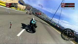 MotoGP '06 Xbox 360 Gameplay - Extreme HD 1
