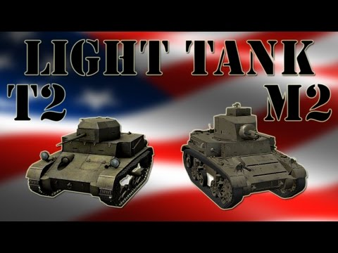 Szybcy i wściekli #122 - T2 i M2 Light Tank :)