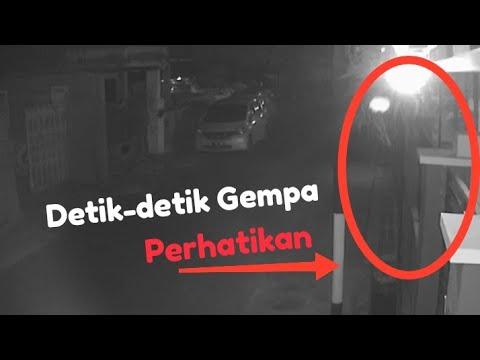 Inilah Detik-detik Terjadi Gempa Di Situbondo TerRekam CCTV Rumah. Bikin Bulu Rambut Merinding