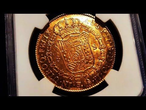 1822 Bolivian Gold: 8 Escudoes