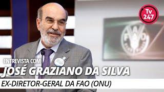 Entrevista com José Graziano, ex-presidente da FAO (ONU) e mentor do Fome Zero (12.9.19)