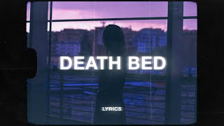 Gambar cover Powfu - death bed (Lyrics)