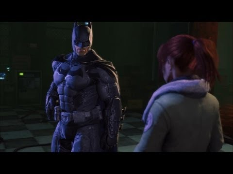 Batman Arkham Origins: Batman Meets Barbara (Batgirl) & James Gordon + Gameplay |