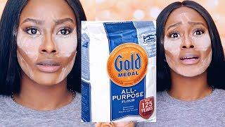 Baking With Flour Does it Work FailUstedes No Van A Creer CГіmo UsГ© La Harina Para Mi Maquillaje
