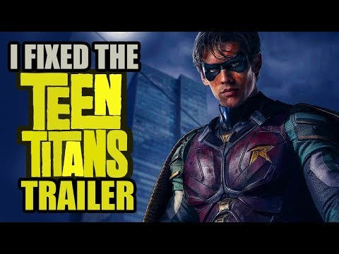 The TEEN TITANS Official Comic-Con Trailer (i fixed it)