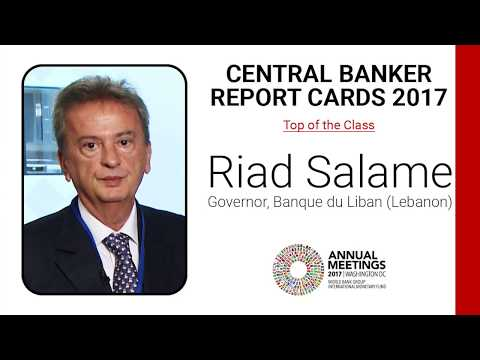 Lebanon needs infrastructure and reserves: Central Bank Governor