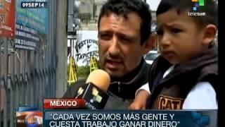 México tiene un indice de pobreza del 53%