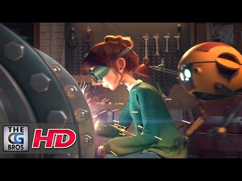 "CGI 3D Animated Short: ""Light"" - by The Light Team"