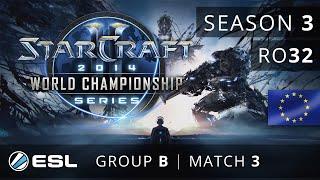 ToD vs. MorroW (PvT) - Group B Ro32 - WCS Europe 2014 Season 3 - StarCraft 2