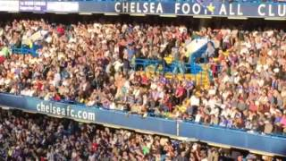 Liverpool fans celebrate Klopp's first league win at Stamford Bridge