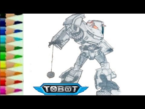 Tobot Z Transformers Carbot Rtv Belajar Menggambar Kartun