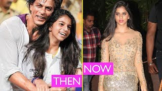 Suhana Khans TRANSFORMATION : From cute to Hot!