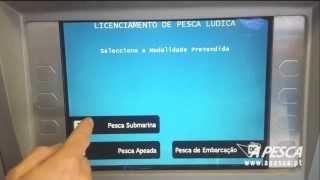 Licença de pesca multibanco - A PESCA