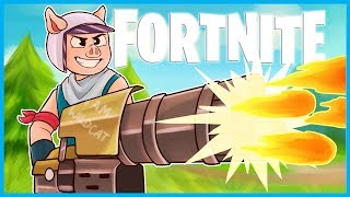 The *NEW* MINI GUN is INSANE in Fortnite: Battle Royale! (Fortnite LMG Minigun Funny Moments)