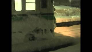 2008年冬の六日町駅
