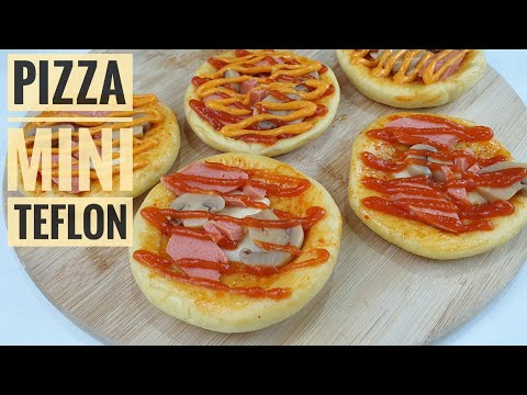 Cara Membuat Pizza Mini Teflon Vs Oven dan simpan stok pizza di freezer