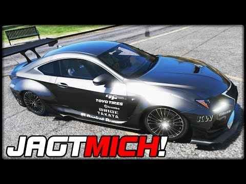 GTA 5 JAGT MICH! #83 | Lexus RCF RocketBunny Deutsch - Grand Theft Auto 5 CHASE ME