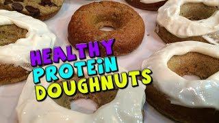 Healthy PROTEIN Doughnuts Recipe (Low Sugar)