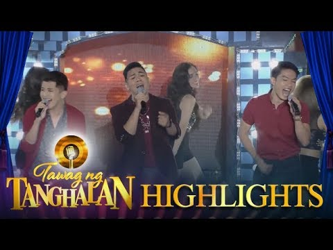 Tawag ng Tanghalan: COVE's Sofronio, Christian, and JM serenade the madlang people