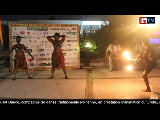 Afrik Art Dance avec ses Cracheurs de Feux