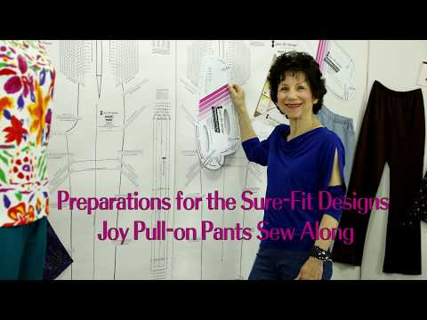 Sure-Fit Designs - Prepping For Joy Pull-On Pants Sew Along