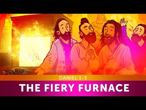 Sunday School Lesson - The Fiery Furnace with Shadrach, Mesh