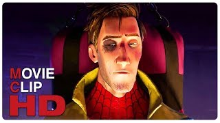 Miles Morales Interrogates Peter Parker Scene | SPIDER-MAN: INTO THE SPIDER-VERSE (2018) Movie CLIP