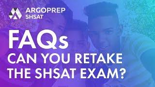 Can you retake the SHSAT Exam?