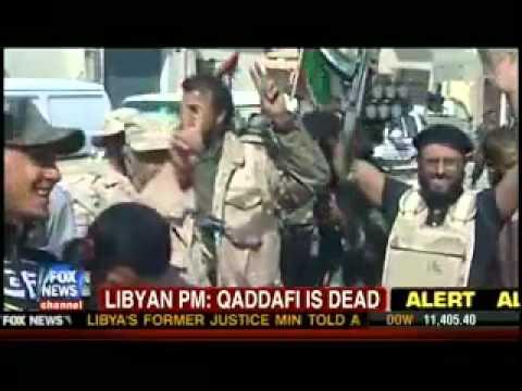 Ann Marlowe Discussing Gaddafi's Death On Location From Libya for Fox News